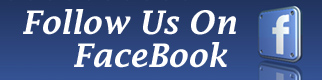 Follow us on FaceBook logo